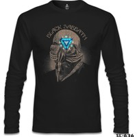 Lord T-Shirt Black Sabbath Arc Reactor Siyah Erkek T-Shirt