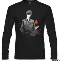 Lord T-Shirt Death Note - Bad Apples Siyah Erkek T-Shirt