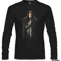Lord T-Shirt Game Of Thrones - Jon Snow Siyah Erkek T-Shirt