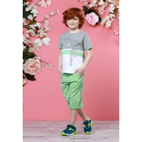 Zeyland Erkek Çocuk Gri Melanj T-shirt - 71M3CSF54