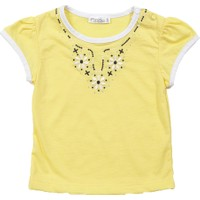 Zeyland Kız Çocuk Sarı T-Shirt - K-61M2LBM51