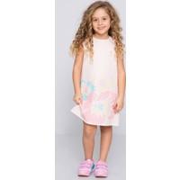 U.S. Polo Assn. Kız Çocuk Dale Elbise Pembe