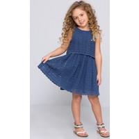 U.S. Polo Assn. Kız Çocuk Hera Elbise Lacivert