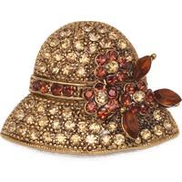 Modex Altın Kaplama Şapka Broş