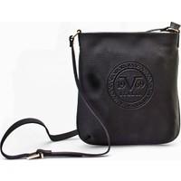 Versace 19.69 Abbigliamento Sportivo Srl.19V69 Baskılı Günlük Kadın Çanta Siyah Deri