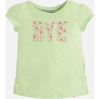 Mayoral Kız Çocuk T-Shirt Kısa Kol İşlemeli 8 Yaş