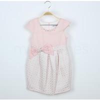 Piccolo Kız Çocuk Elbise Yarım Kol Süslemeli 6 Yaş (116 cm)