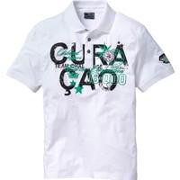 bonprix Beyaz Polo Yaka T-Shirt 34-54 Beden