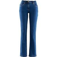 bonprix Streç Jean Straight Uzun Mavi