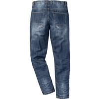 bonprix Mavi Jeans Loose Fit Tapered İnç Uzunluğu 32 34-54 Beden