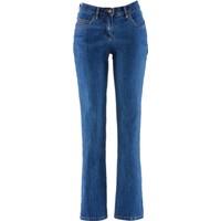 Bonprix John Baner Jeanswear Streç Jean Straight Kısa Mavi