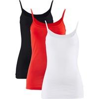 Bpc Bonprix Collection Kırmızı Tek Renk Bluz 34-54 Beden
