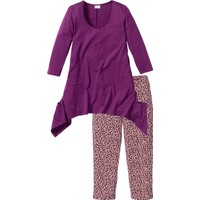 Bonprix Bpc Selection Lila Kapri Pijama 34-54 Beden