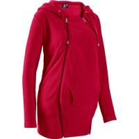 Bpc Bonprix Collection Kırmızı Polar Kumaş Ceket 34-54 Beden