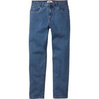 Bonprix John Baner Jeanswear Mavi Streç Jean Classic Fit Tapered K-Beden 34-54 Beden