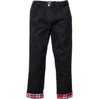 Bonprix John Baner Jeanswear Flanel Astarlı Thermo Pantolon Siyah