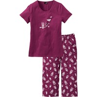 Bpc Bonprix Collection Kapri Pijama Lila