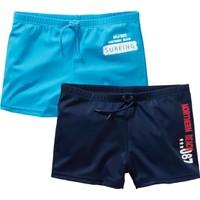 bonprix Deniz Şortu (2'Li Paket) Mavi