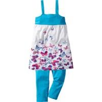 Bpc Bonprix Collection Çok Renkli Elbise + 3/4 Paça Tayt (2 Parça) 34-54 Beden