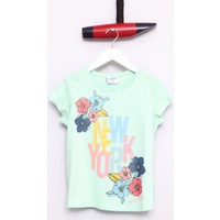 U.S. Polo Assn. Kız Çocuk Garda T-Shirt Yeşil