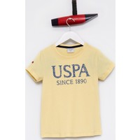 U.S. Polo Assn. Erkek Çocuk Geart T-Shirt Sarı