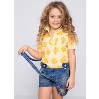 U.S. Polo Assn. Kız Çocuk Vable T-Shirt Pembe Sarı