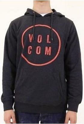 Volcom Daıly Po Flc Black Sweatshırt