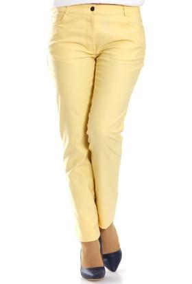 Aşiyan Pantolon P502 Sarı