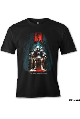 Lord T-Shirt Game Of Thrones - The North Remembers Erkek T-Shirt