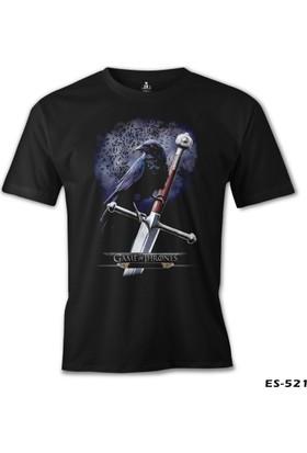 Lord T-Shirt Game Of Thrones - Crow Erkek T-Shirt