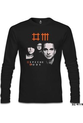 Lord T-Shirt Depeche Mode Siyah Erkek T-Shirt