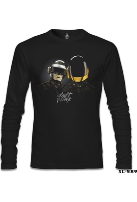 Lord T-Shirt Daft Punk Siyah Erkek T-Shirt