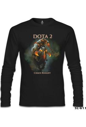 Lord T-Shirt Dota 2 - Chaos Knight Siyah Erkek T-Shirt