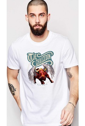 The Chalcedon Bull On Paradise Erkek Tshirt