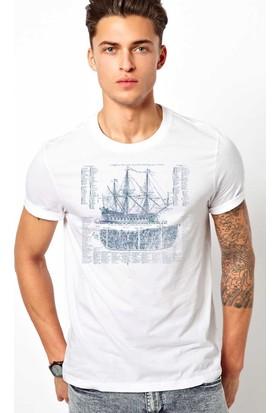 The Chalcedon A Ship Erkek Tshirt