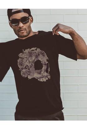 The Chalcedon Jungle Skull Erkek Tshirt