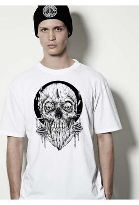 The Chalcedon Woodo Skull Erkek Tshirt