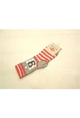 Yümese Anti Bakteriyel Çizgili Çorap
