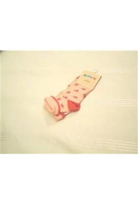 Yümese Anti Bakteriyel Sarı Kırmızı Çorap