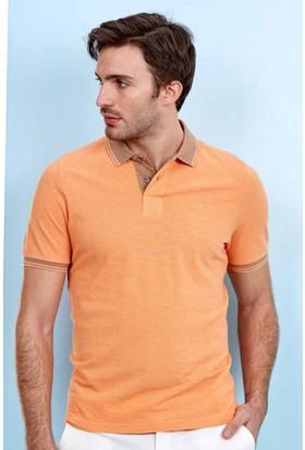 Hemington Turuncu Polo Yaka T-Shirt