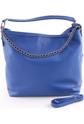 Cantamall 2609 Kadın Omuz Çantası Mavi