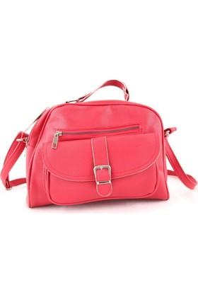 Cantamall 2639 Kadın Postacı Çanta Kırmızı