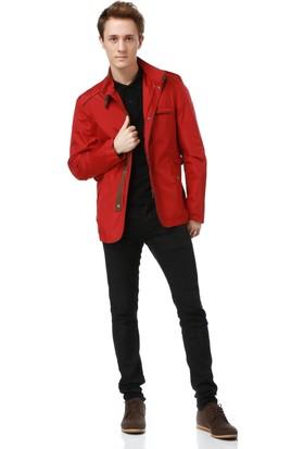 Dewberry L3400 Erkek Mont Kırmızı