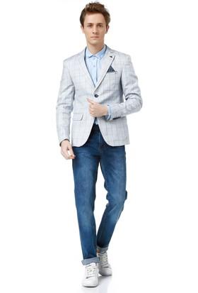Dewberry C7851 Erkek Ceket Mavi