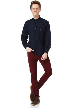 Dewberry G615 Erkek Gömlek Lacivert