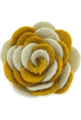 CoolMenClub Çiçek Şekilli Broş