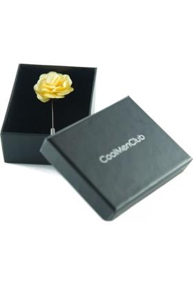 CoolMenClub Çiçek Şekilli Yaka İğnesi