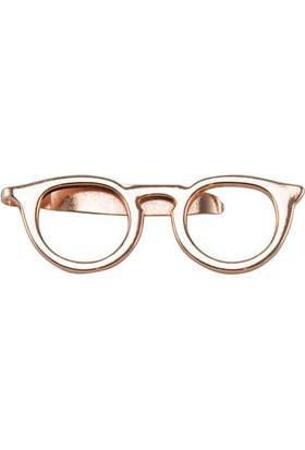 CoolMenClub Gözlük Şekilli Broş
