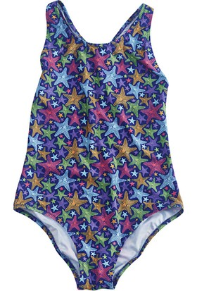 Slipstop Starfish Kız Çocuk Mayo