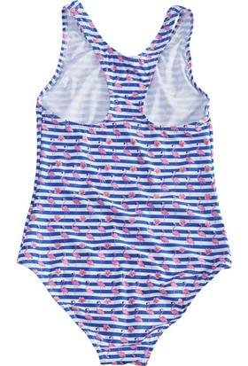 Slipstop Stripe Kız Çocuk Mayo